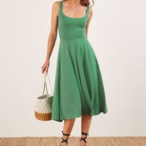 Reformation Rou dress worn once.  Xs.
